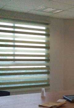 Faux Wood Blinds For Office Windows, Ramona